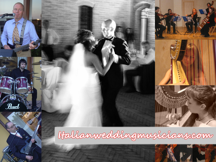 Italian Wedding Musicians - Destination wedding musicians Italy
