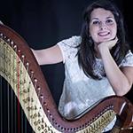 wedding musicians italy harpist Siena
