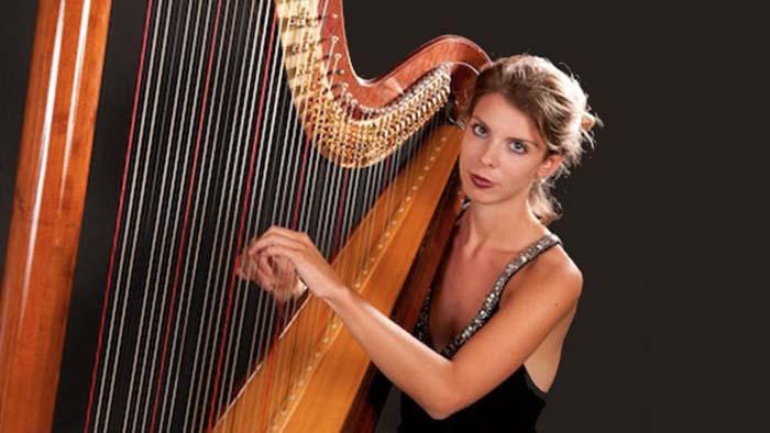 Wedding harpist Tuscany Florence