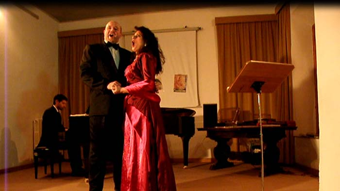 Wedding tenor and soprano Italy classical singers