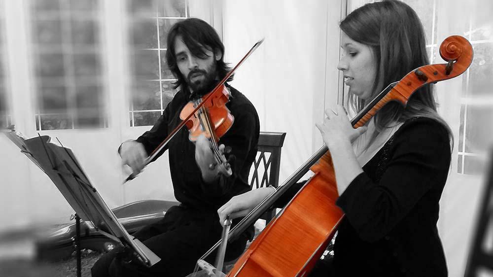 Italian wedding String quartet Tuscany - By Italian Wedding Musicians